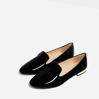 PATENT FINISH FLATS
