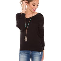 Mila Sweater - Black