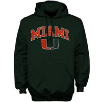 Miami Hoodie Sweat Shirt Hurricanes College University Apparel Officially Licensed By The NCAA