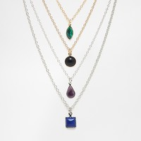 Limited Edition Pack of Four Mixed Bead Necklaces