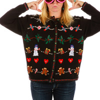 Popcorn Tubz Ugly Christmas Sweater