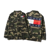 Fashion Men's Fashion Hip-hop Camouflage Jacket [11218585031]