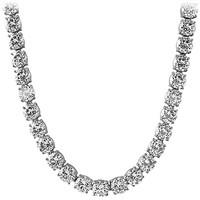 10MM CZ Stainless Steel Tennis Chain