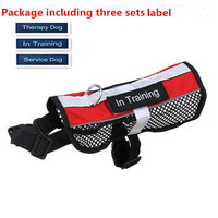 Breathable Military/Service/Therapy Dog Training Harness