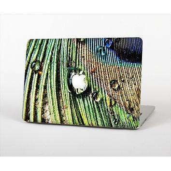 The Watered Peacock Detail Skin Set for the Apple MacBook Air 11""