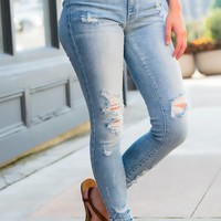 Lexi Distressed KanCan Jeans