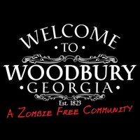 Welcome To WOODBURY GEORGIA EST. 1823 A Zombie Free Community Walker Graphic T Shirt Great Gift