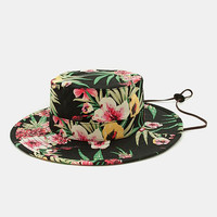 Obey Boonts Hat - Floral at Urban Industry