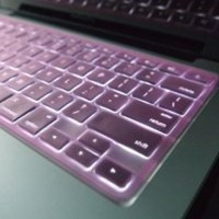 """TopCase® Transparent HOT PINK Keyboard Silicone Cover Skin for Macbook Pro 13"""" 15"""" 17"""" with or without Retina Display + TopCase® Mouse Pad"""