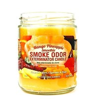 Smoke Odor Exterminator Candle Mango Pineapple Smoothie