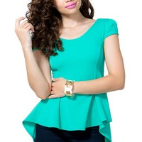 Audrey Bow Back Peplum