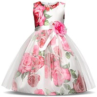 Fancy Baby Girls Kids Clothes Children Christmas Dress Brand Baby Girl Dress Princess Girls Party Dresses