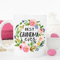 Best Grandma Ever Mug, Grandma Gift, Gift for Grandma, Mothers Day Gift, Best Grandma, Grandma Mug, New Grandma Gift, Grandma Coffee Mug