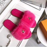 Louis Vuitton 18ssartival Lv Maomo Slippers-6