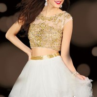 2014 Alyce Sweet 16 and Party Collection Two Piece Dress 3638
