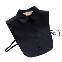 Shirt Fake Collar White And Black Detachable Collars False Collar Lapel Blouse Top Women Clothes Accessories