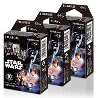 Fujifilm Instax Mini Star Wars 30 Film for Fuji 7s 8 25 50s 90 300 Instant Ca...