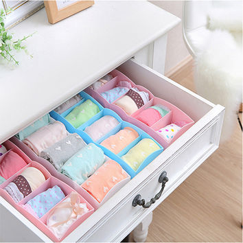 Sweets Multi-functioned Storage Box Simple Design Socks Underwear Drawer [4918265732]