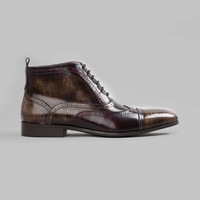 The Gentlemens Patent Leather Boot