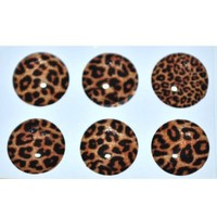 Leopard Home Button Sticker for Iphone 4g/4s Ipad2 Ipod (At&t Only) Jc064an + Free Screen Protector