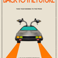 Back to the Future Movie Poster Art Print by Jazzberry Blue | Society6