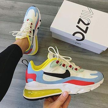 NIKE AIR MAX 270 Fashion Running Sneakers Sport Shoes