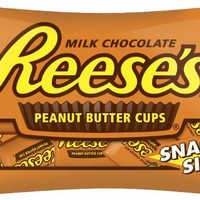 REESE'S Snack Size Peanut Butter Cups, (10.5-Ounce Bag, Pack of 6)