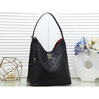 LV Fashion Lady Printed Shopping Bag Single Shoulder Bag