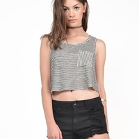 Blurred Lines Tank Top - Small