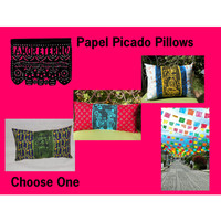 Papel Picado Pillows