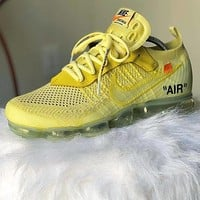 OFF-WHITE x Nike Air Vapor Max Sneakers Sport Shoes