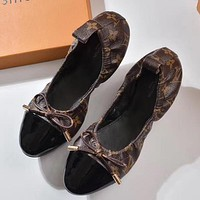 Louis Vuitton Women Moccasin-Gommino In Leather Driving Shoes