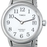 Timex® Women's Easy Reader Silver-Tone Expansion Band Watch #T2H371