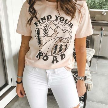 Find Your Road Tee