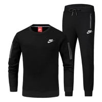 Nike Fashion Casual Top Sweater Pants Trousers Set Two-Piece