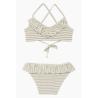 Lanai Bikini Set (Kids) - Coastal Stripe Print