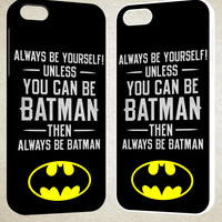 Batman Quote F0320 iPhone 4S 5S 5C 6 6Plus, iPod 4 5, LG G2 G3, Sony Z2 Case