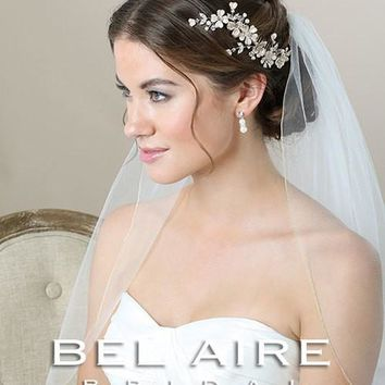Bel Aire 6590 Painted Flower Comb