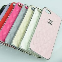 New Luxury Designer Synthetic Sheep Leather  iPhone 5 Case C