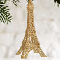 Eiffel Tower Glitter Ornament - Urban Outfitters