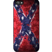 Confederate Rebel Flag Painting iPhone 5s For iPhone 5/5S Case