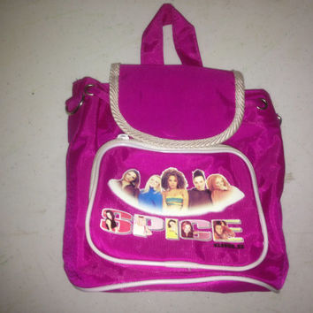 90s spice girls mini backpack