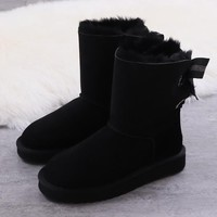 Women's UGG snow boots Middle boots DHL _1686248855-453