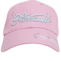 PRINCESS BASEBALL HAT