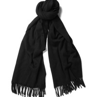 PRODUCT - Acne - Canada Oversized Brushed-Lambswool Scarf - 371890 | MR PORTER