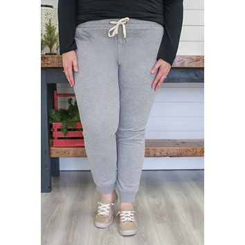 Homebody Joggers + Heather Grey