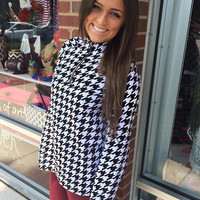 Bama Game Day Pullover - Houndstooth