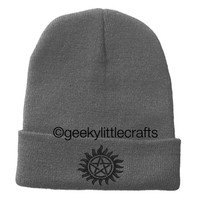 Supernatural Beanie by Geeky Little Crafts