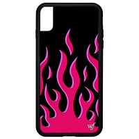 Flames iPhone Xs Max Case | Red