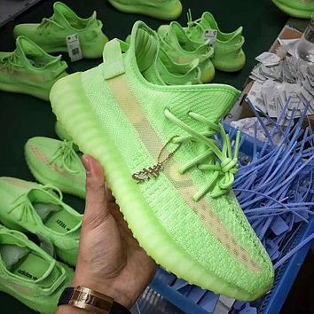 Adidas Yeezy 350 v2 fashion men's and women's shoes breathable casual sports shoes 1